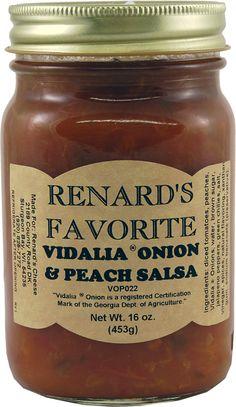 Renard's Sweet Onion and Peach Salsa