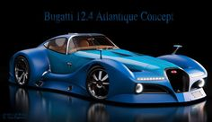 The Bugatti Atlantique Concept Car is Inspired by the Type 57SC #Cars #Automobiles