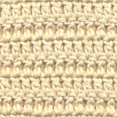 If you are *that* beginner like me who goes to crochet tutorials only to find that you need a tutorial for the tutorial, this is a very nice set of pictures that explains AND shows how to do a double stitch.