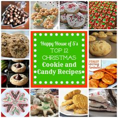 Christmas Cookie and Candy Recipes