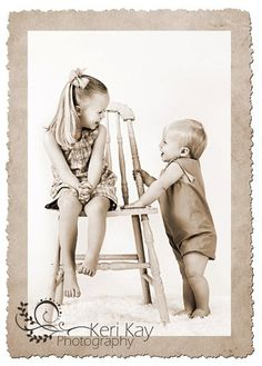 Sister and brother  Photography~ children and newborn
