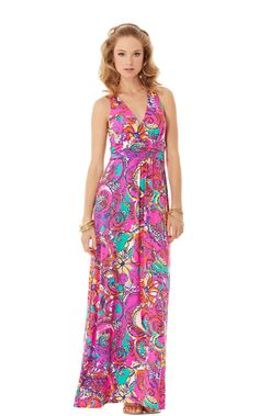 Parrish Halter Maxi Dress