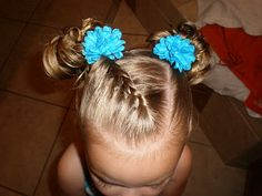Girl Hairdos & Ideas-