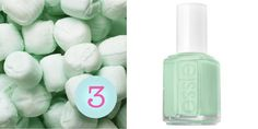 Mint Candy Apple: Essie nail polish
