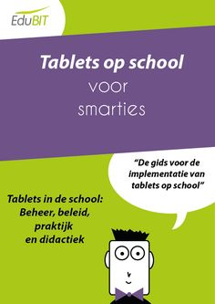 Dit is een site waar er heel wat informatie staat over tablets op school.  Er staan ook gratis en betalende apps op die interessant zijn voor in de klas.