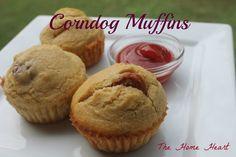 Corndog Muffins (Savory)