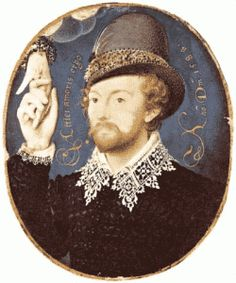 The Hilliard Minature is very pretty but there's not a great deal of credibility in the claim that it's a portrait of Shakespeare.