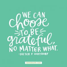 Happy Sunday! Quote from Dieter F. Uchtdorf