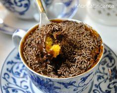 Bolo de Cenoura & Chocolate de Caneca   Monta Encanta