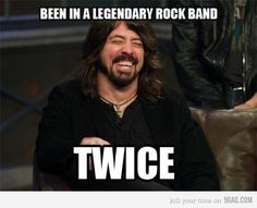 Dave Grohl...amazing!