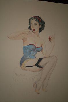 Disney Pinups - Snow White by ~pixifly on deviantART