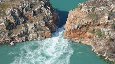 Horizontal waterfalls - Australia
