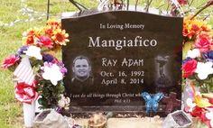 The Pursuit of Joe Mangiafico: Tombstone Tuesday ~ Adam Mangiafico #genealogy #familyhistory