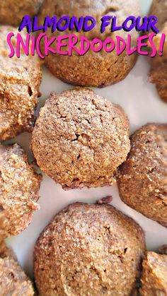 70 Calorie Almond Flour Snickerdoodle Cookies! – Simply Taralynn #paleo #glutenfree