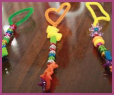 Craft: Create Your Very Own Bubble Wand | Macaroni Kid