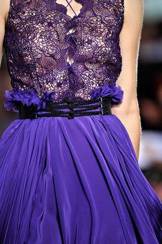 prabal gurung. purple