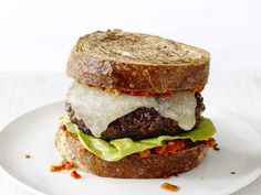 Barcelona Burgers Recipe : Food Network Kitchen : Food Network - FoodNetwork.com
