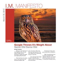 Issue 2 Of IM Manifesto Released...