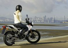 all-electric Zero motorcycle: not a conversion, still looks like a real bike