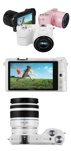 The Samsung NX2000 Mirrorless Camera (Click to read our review)