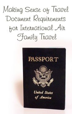 Pin now, read later. Passports, Visas, Yellow Cards, Oh my! Making sense of travel documents with I Heart Family Travels. Travel Tips