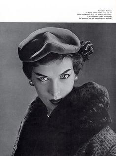 Caroline Reboux (Millinery) 1954