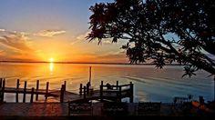 @rlbendele- #TODAYsunrise Gazebo on the Caloosahatchee , Cape Coral, FL
