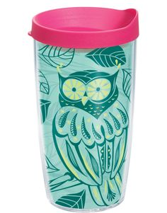This trendy owl tumbler let's you stick out in the crowd.