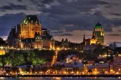 Quebec City, Quebec. {The Edgy Times}