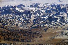 space station, mountains, seas, himalaya, travel maps, tibet, earth, mount everest, nepal