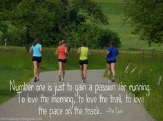 Gain a passion for running