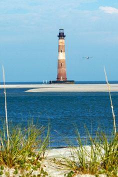 Morris Island lighthouse, Charleston SC