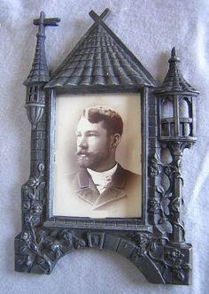 Cast iron antique victorian frame