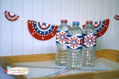 Free Patriotic Printables | Red White and Blue - 4th of July | TodaysCreativeBlog.net