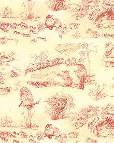 Tasha Tudor fabric!!