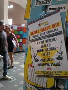 Nacional Records at SXSW 2012