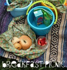 Breakfast picnic for