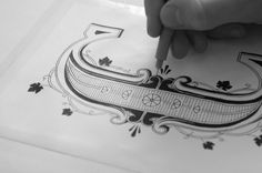 A Typographer's Notebook That Is Filled With Gorgeous Hand-Lettering - DesignTAXI.com