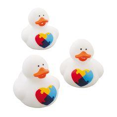 Autism Awareness Rubber Duckies - OrientalTrading.com