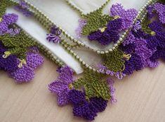 Turkish Oya needle lace