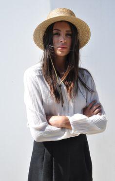 Anaïse Clyde Flat Top Hat