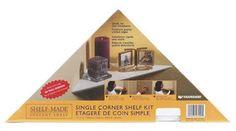 Knape & Vogt Ezc 12/1 WH Corner Shelf... $7.99 #bestseller