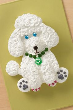 Perfect poodle cake for a perfect poodle friend!