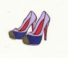 block prints, shoe block