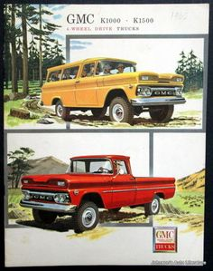 Old GMC trucks