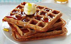 Toasted Oatmeal Waffles