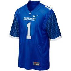 Nike Kentucky Wildcats Youth #1 Replica Football Jersey. $49.95