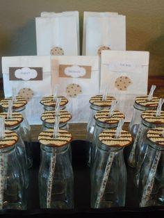 love the cookies as lids!
