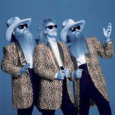 music, origin blue, zztop, roll, classic rock, band, zz top, blue brother, leopard prints