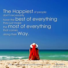 wisdom, thought, inspir, happiest peopl, thing posit, people, beach quot